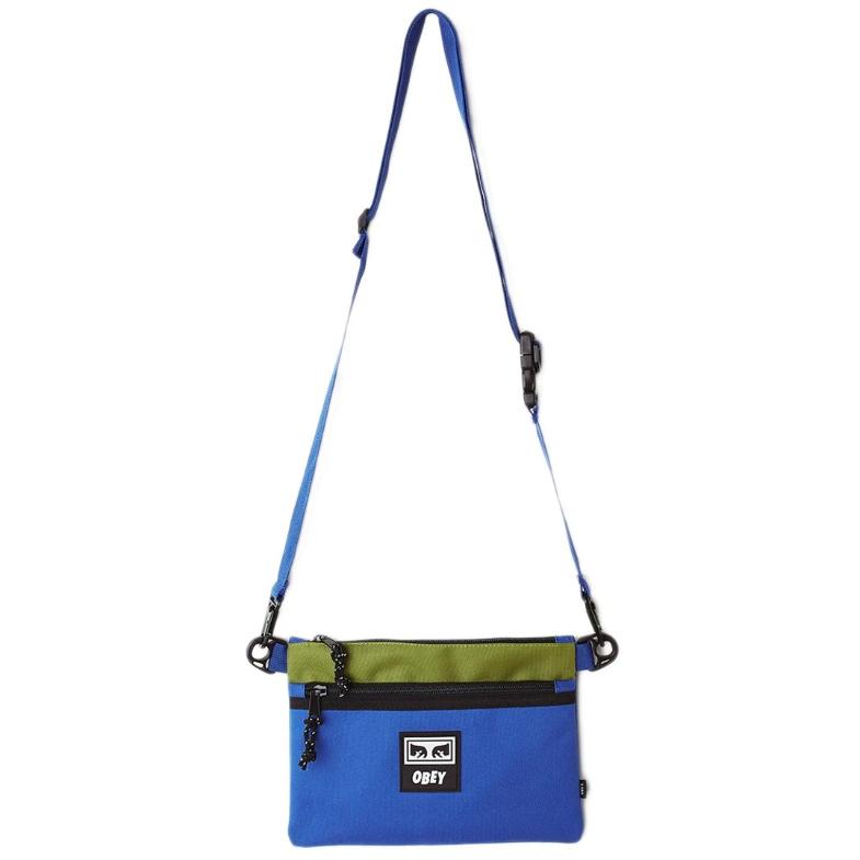 [단독할인]오베이크로스백 CONDITIONS SIDE BAG III 100010136 BLUE MULTI