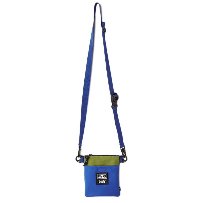 [단독할인]오베이크로스백 CONDITIONS SIDE POUCH III 100010137 BLUE MULTI