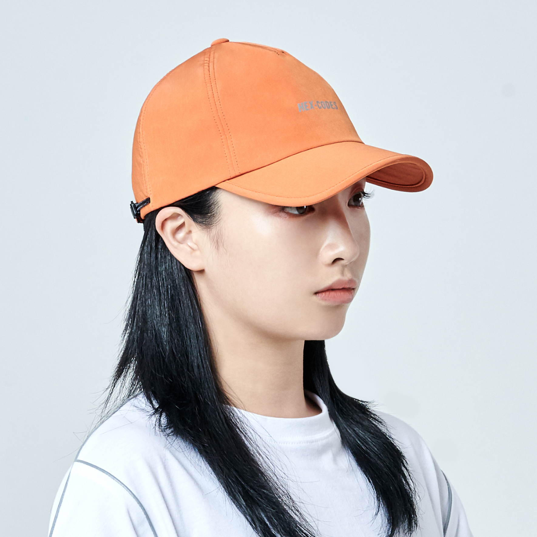 H04 펜타곤 프랙티컬 볼캡 모자 PENTAGON PRACTICAL CAP WITH 3M PRINTING ORANGE