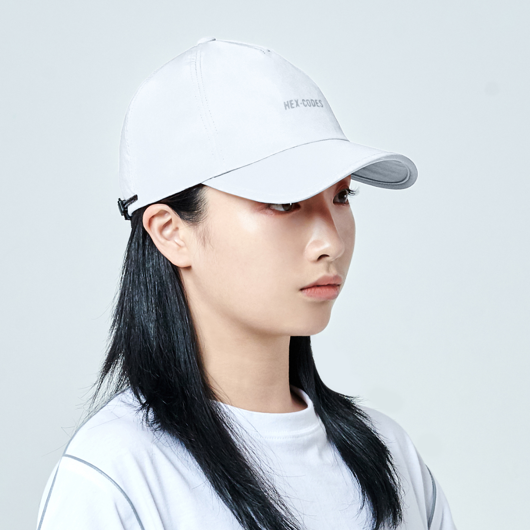 H04 펜타곤 프랙티컬 볼캡 모자 PENTAGON PRACTICAL CAP WITH 3M PRINTING WHITE