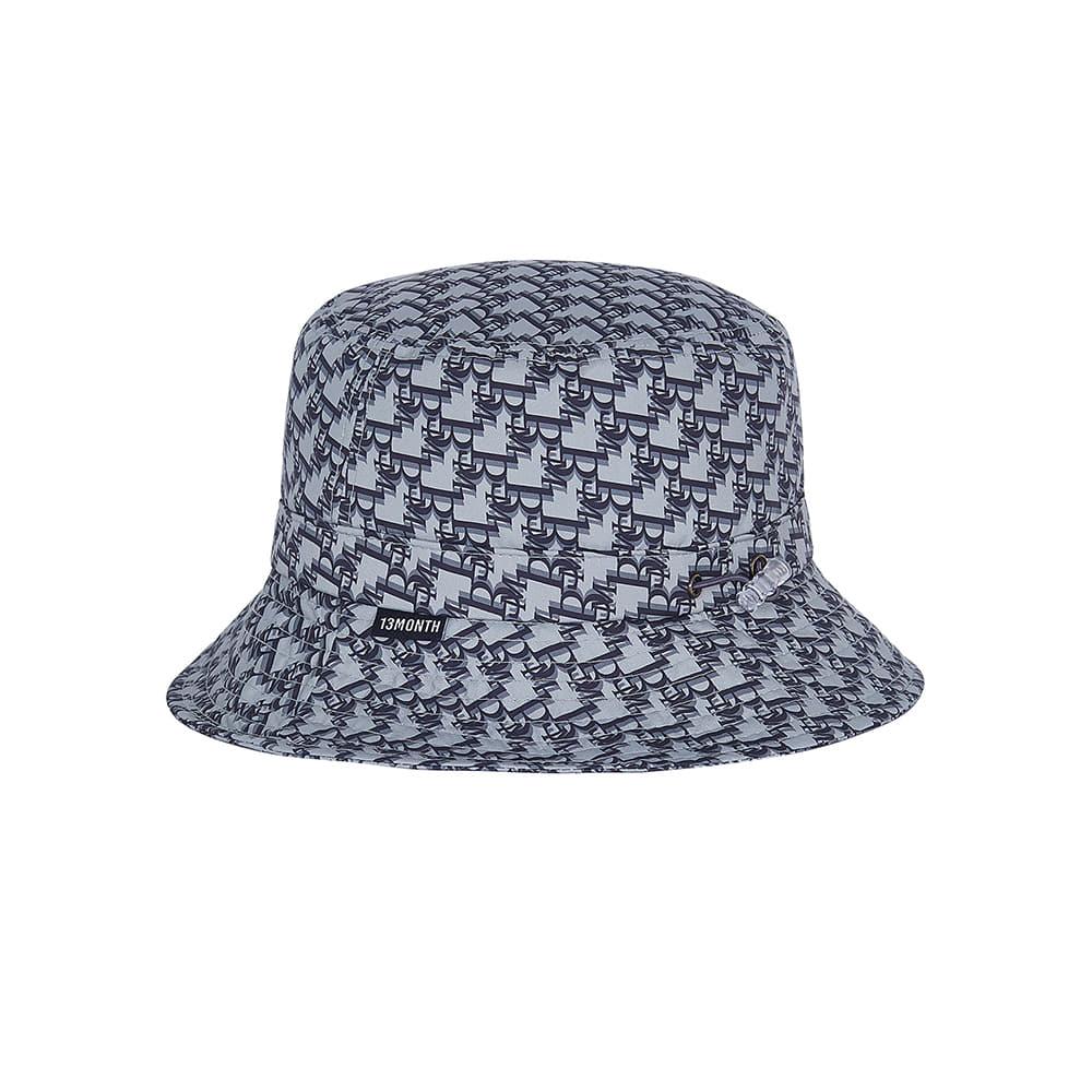 13M PATTERN BUCKET HAT (GRAY)