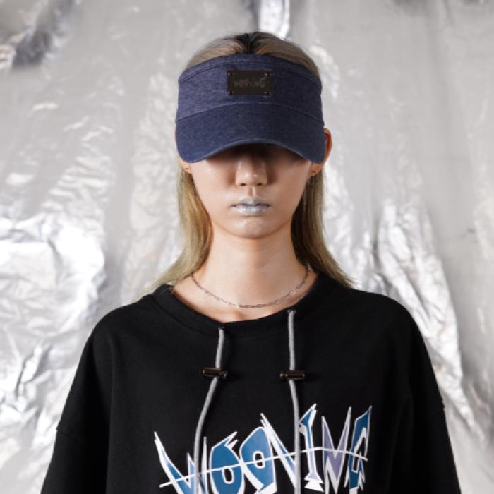 [WOOVING] 레이져 로고 썬 캡 (BLUE)