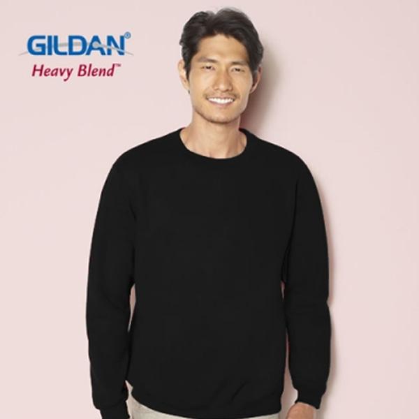 [국내배송]GILDAN 길단 기모 크루넥 맨투맨 티셔츠 3color