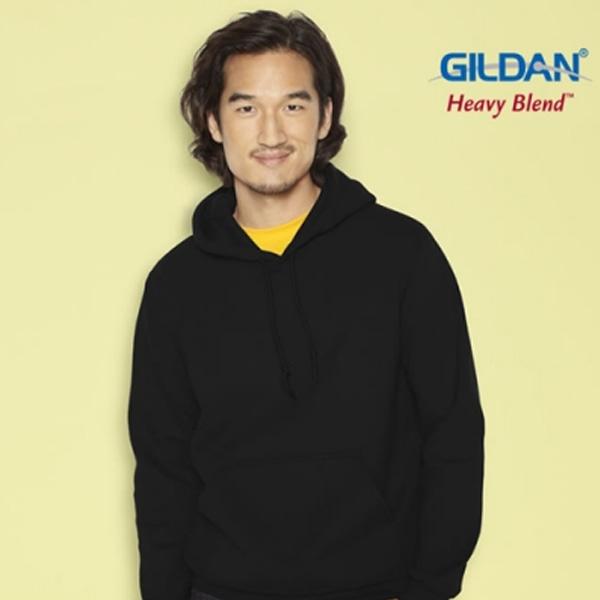 [국내배송]GILDAN 길단 기모 후드 티셔츠 6color
