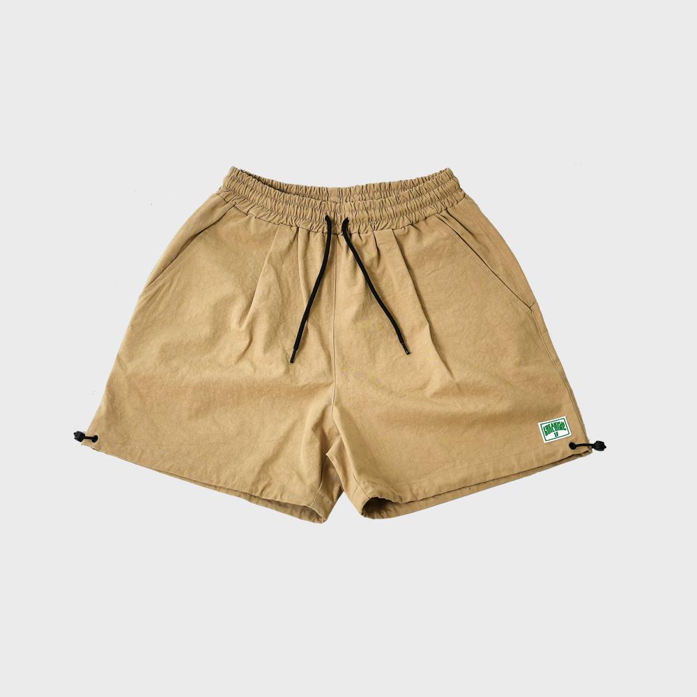 [FHBG] HF WIDE SHORTS PANTS (BEIGE)