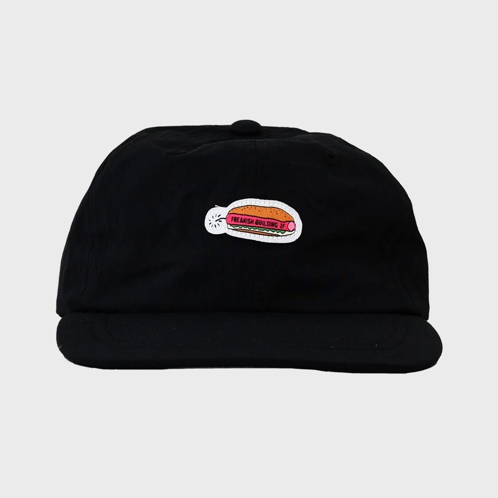 [FHBG] DYNADOG FLAT CAP  (BLACK)