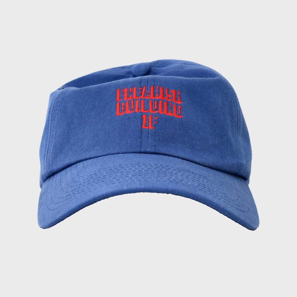 [FHBG] ENGRAVE BALL CAP (NAVY)