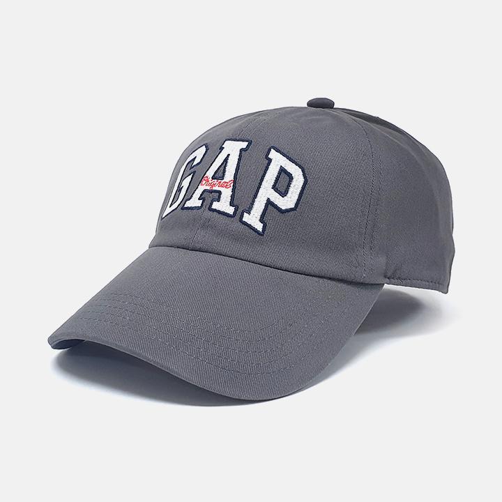 [국내배송]GAP 갭 로고 모자 볼캡 435850 01 진그레이 야구모자 남녀공용