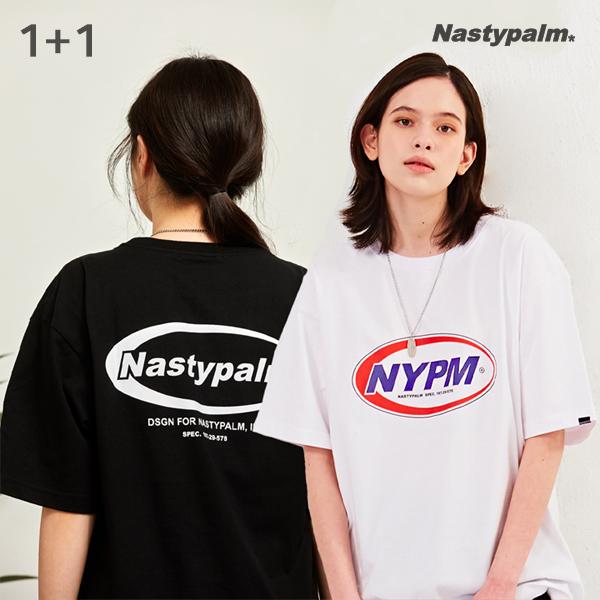 [단독할인][단독구성][1+1] 네스티써클 반팔 + 네스티스펙 반팔