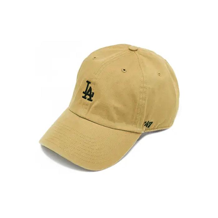 [국내배송]47브랜드 스몰로고 LA 다저스 클린업 카키 / KHB