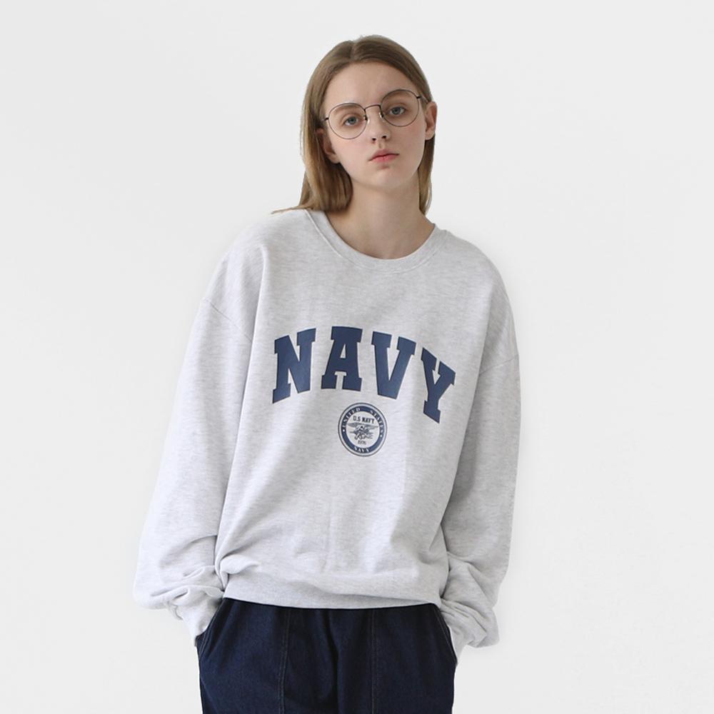 프롬에이투비 빈티지팩 NAVY 맨투맨 티셔츠 TOBMT302 / 3color
