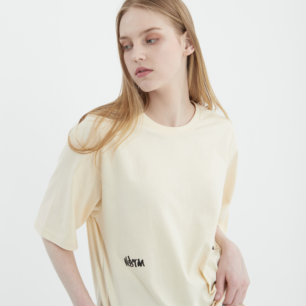 GRAFFITI T-SHIRTS_beige