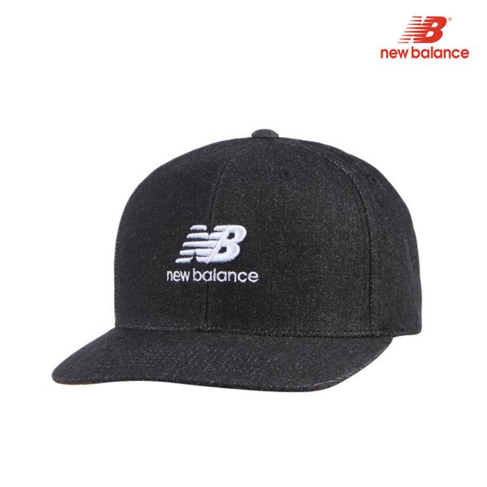 [국내배송]뉴발란스 로고 스냅백 야구 모자 캡 야구 모자 캡 NBGD6S1201-BK