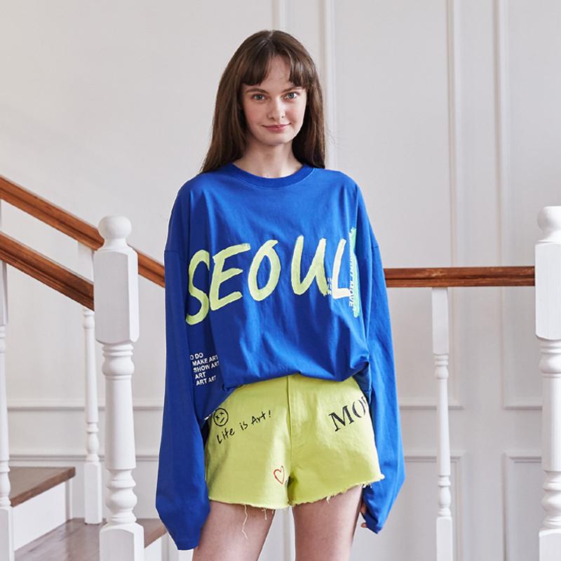 [unisex] seoul t (blue)