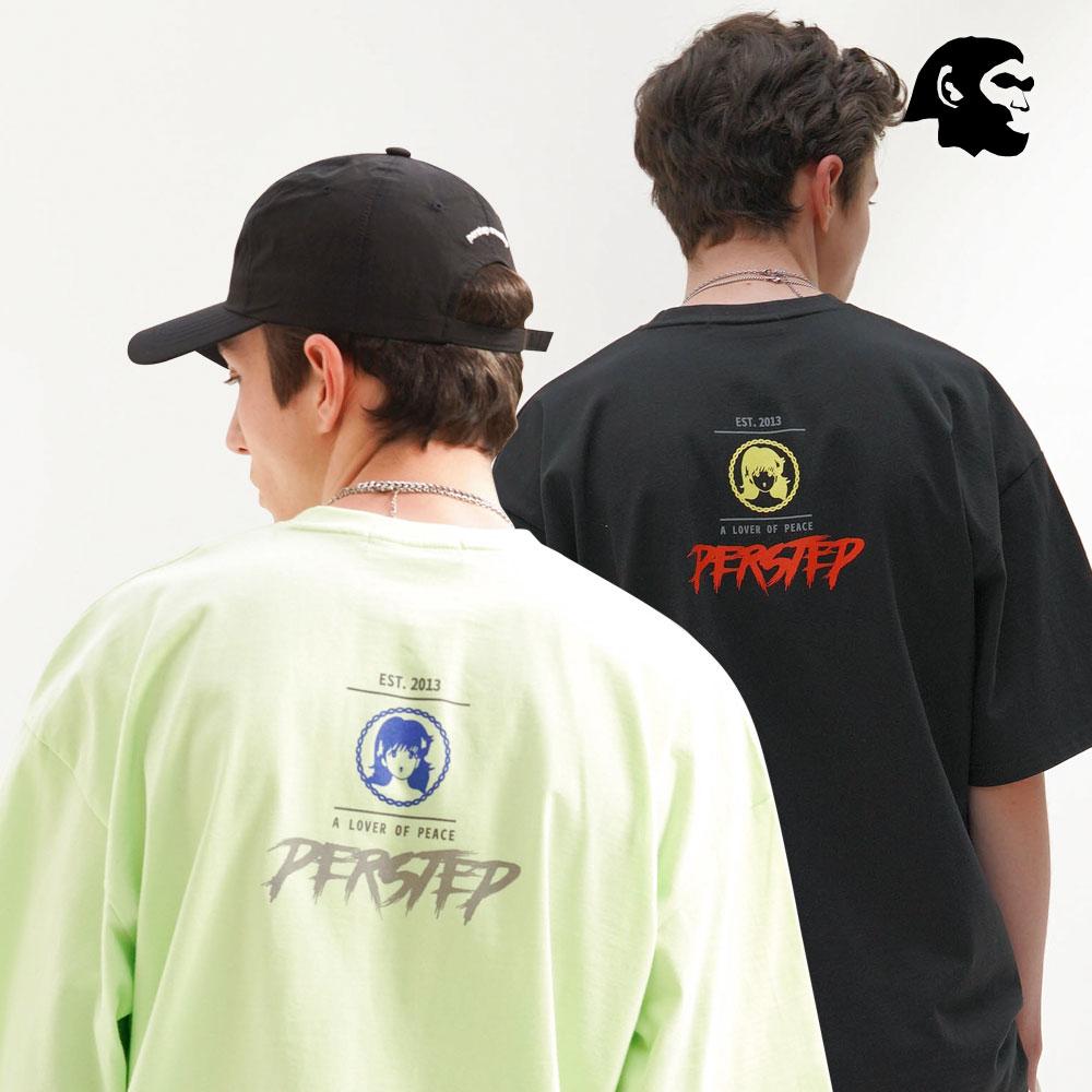 [퍼스텝] 피스 반팔 5종 KHST4359