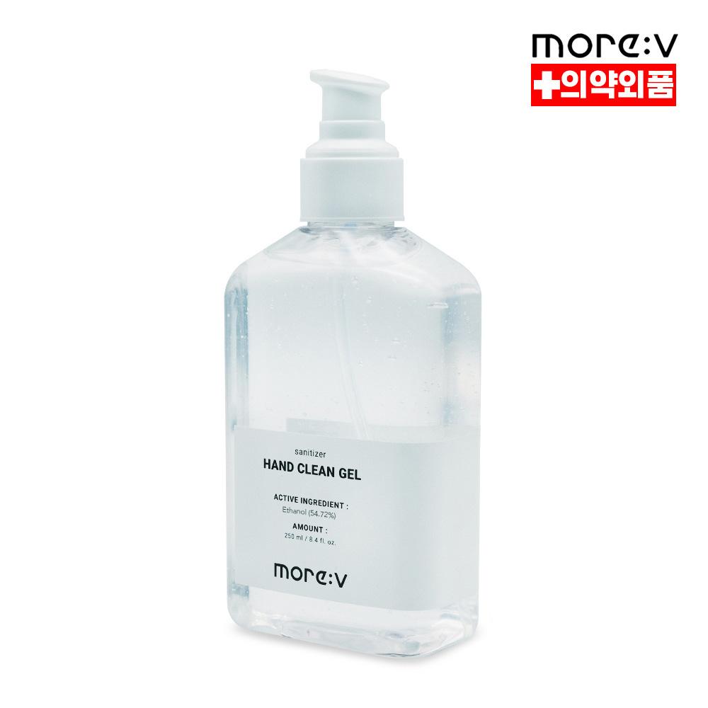 모어브이 핸드 클린젤 손소독제 250ml [대용량/젤타입/의약외품]