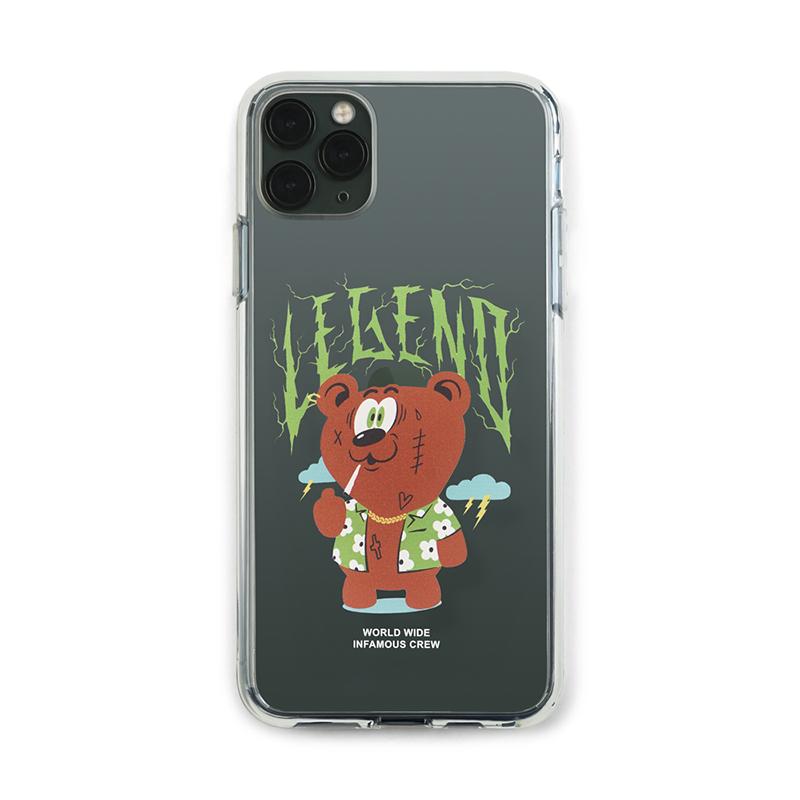 STIGMA PHONE CASE SMOKE BEAR CLEAR iPHONE 11 / 11 Pro / 11 Pro Max