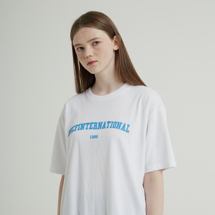 [단독]BNCF 인터네셔널 반팔티셔츠 (화이트)