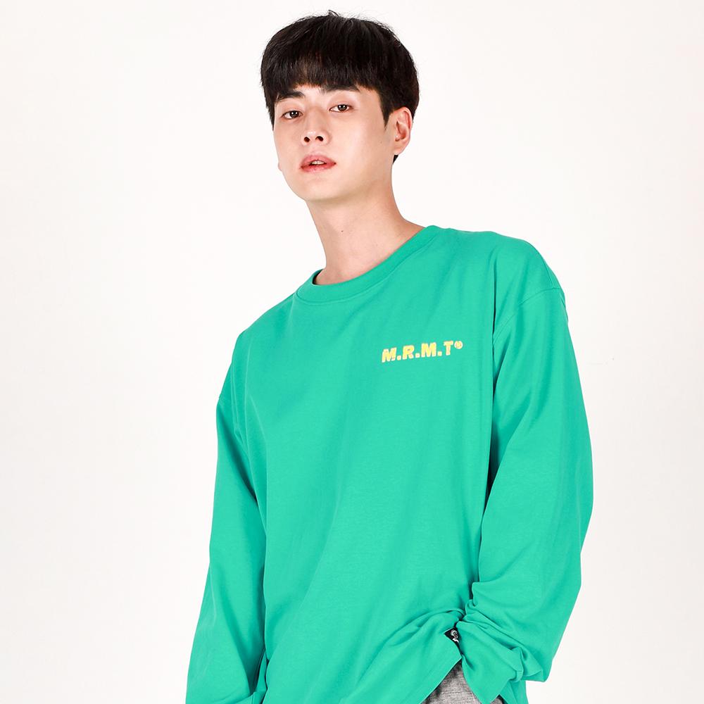 [리퍼브데이]Crack M Lettering T-shirt(MINT)