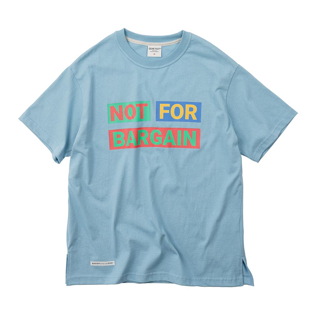 낫 포 바겐 티셔츠 (sky)