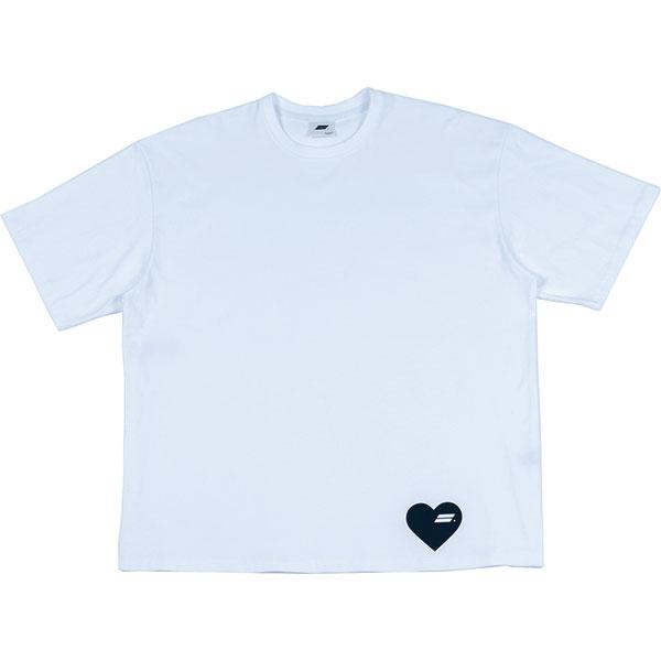 [단독할인]HEART LOGO T-SHIRT (WHITE)