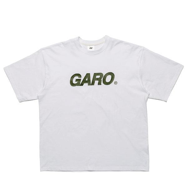 [단독할인]GARO LOGO TEE (WHITE)
