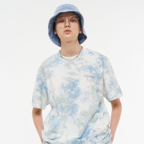 [남여공용]셀브즈 타이다이 티셔츠 (스카이멀티)