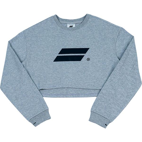 [단독할인]Crop long sleeve (gray)