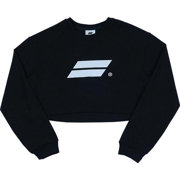 [단독할인]Crop Long sleeve (Black)