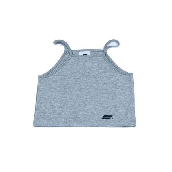 [단독할인]Crop sleeveless (gray)