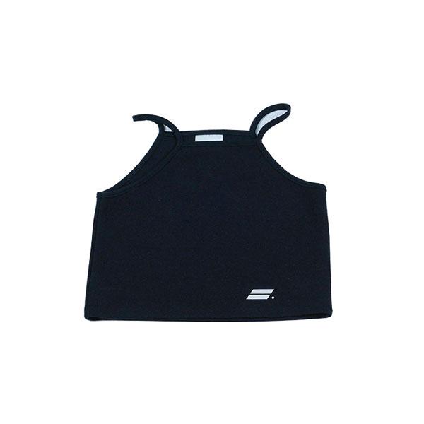 [단독할인]Crop sleeveless (Black)