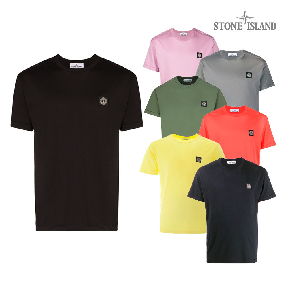 [단독특가][스톤아일랜드]로고 반팔 티셔츠 721524113