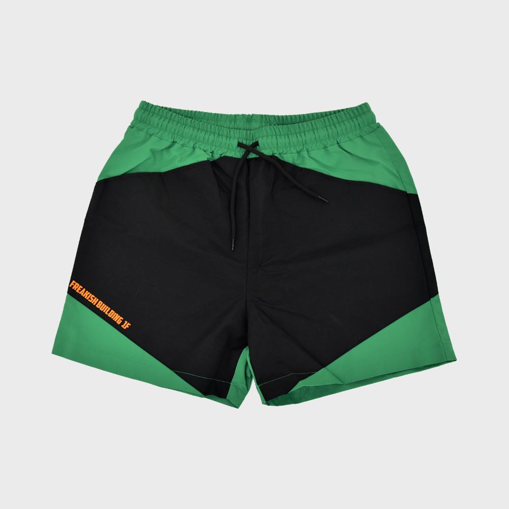 [FHBG] TRI-DATA SHORTS PANTS (GREEN)