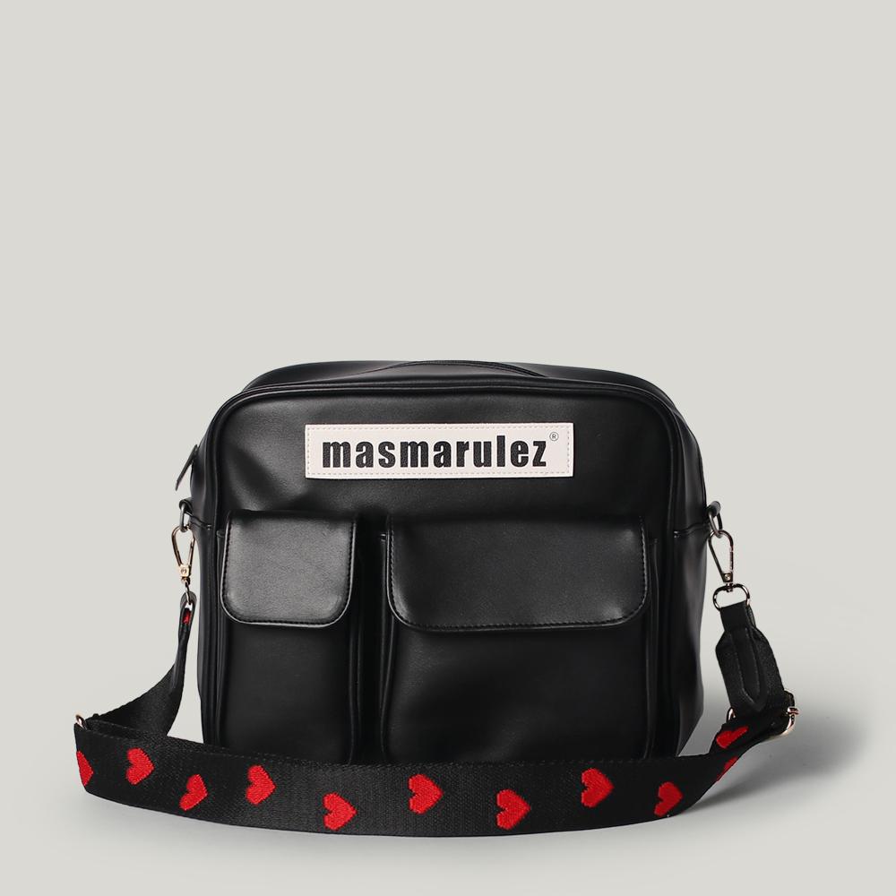 [마스마룰즈] Leather cross bag