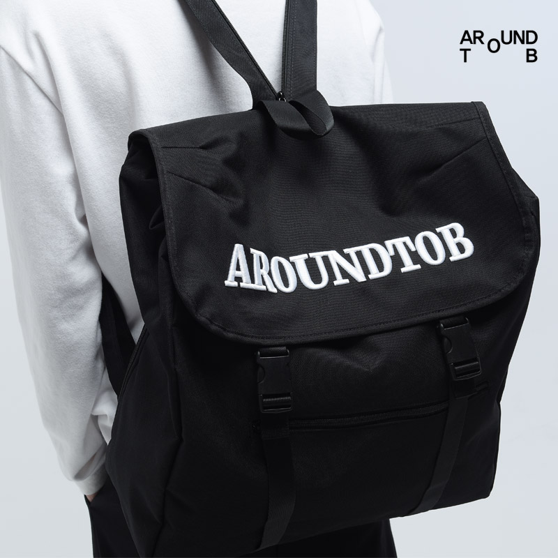 [AROUND TO B] POST SLING&BACKPACK BLACK