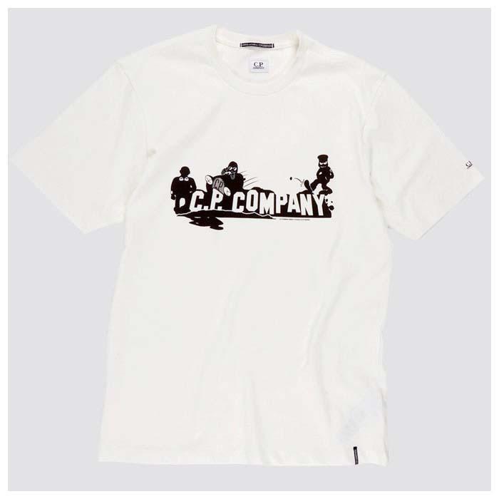 [국내배송]씨피컴퍼니 티셔츠 화이트 08CMTS285A 005318W 103 국내배송