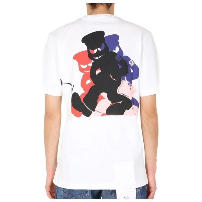 [국내배송]CP COMPANY 남성 티셔츠 08CMTS286A 005318W 103 국내배송