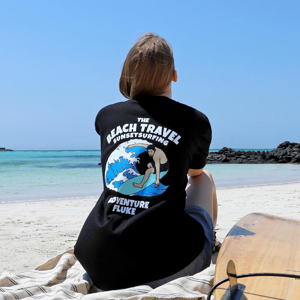 플루크 서핑 트래블 반팔티셔츠 FST161 / 4color