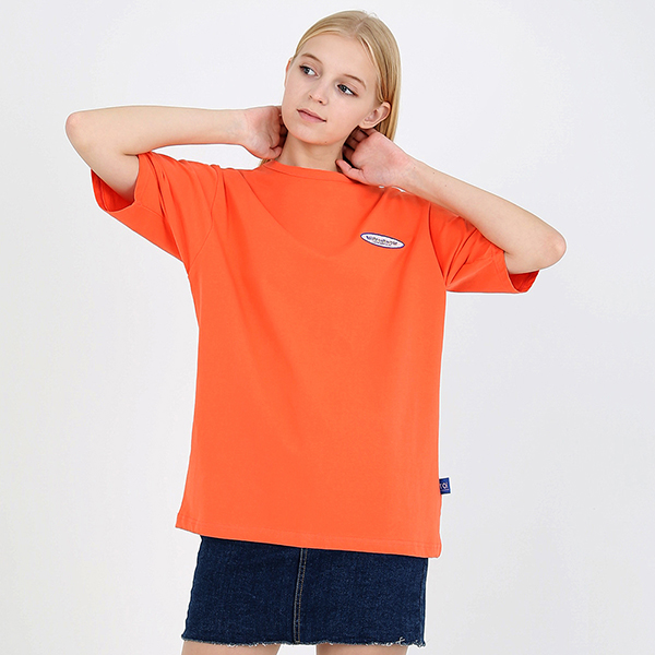 [TOi] 로고 반팔 티셔츠 핑크