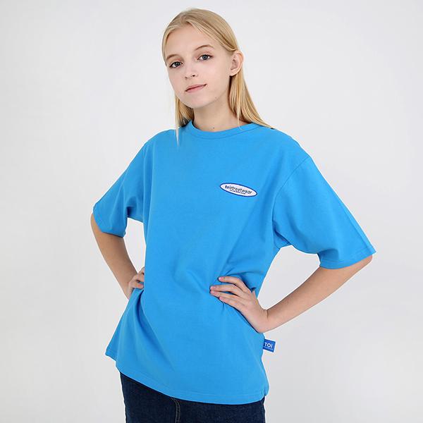 [TOi] 로고 반팔 티셔츠 블루