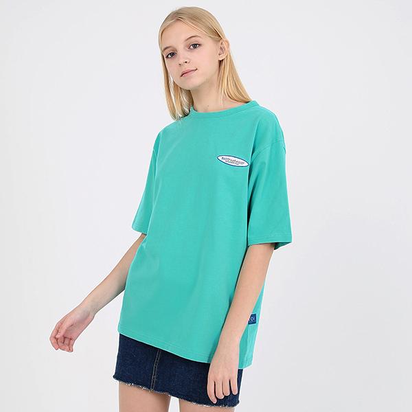 [TOi] 로고 반팔 티셔츠 그린