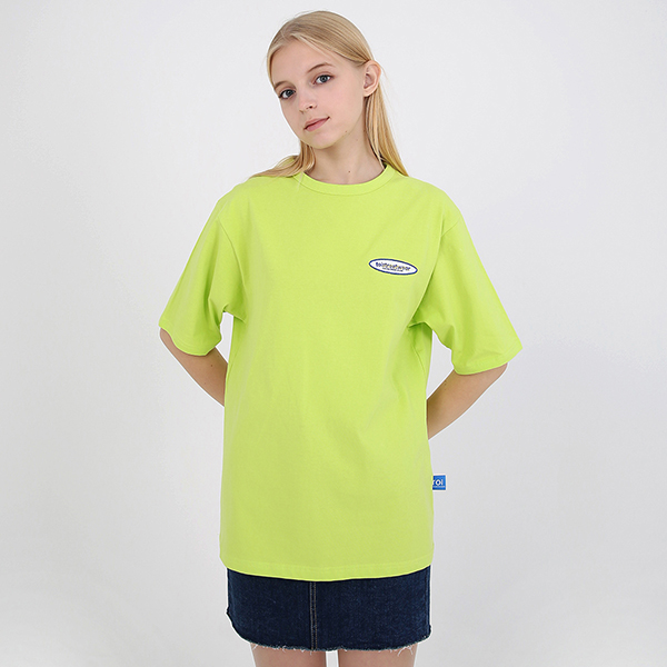 [TOi] 로고 반팔 티셔츠 형광그린