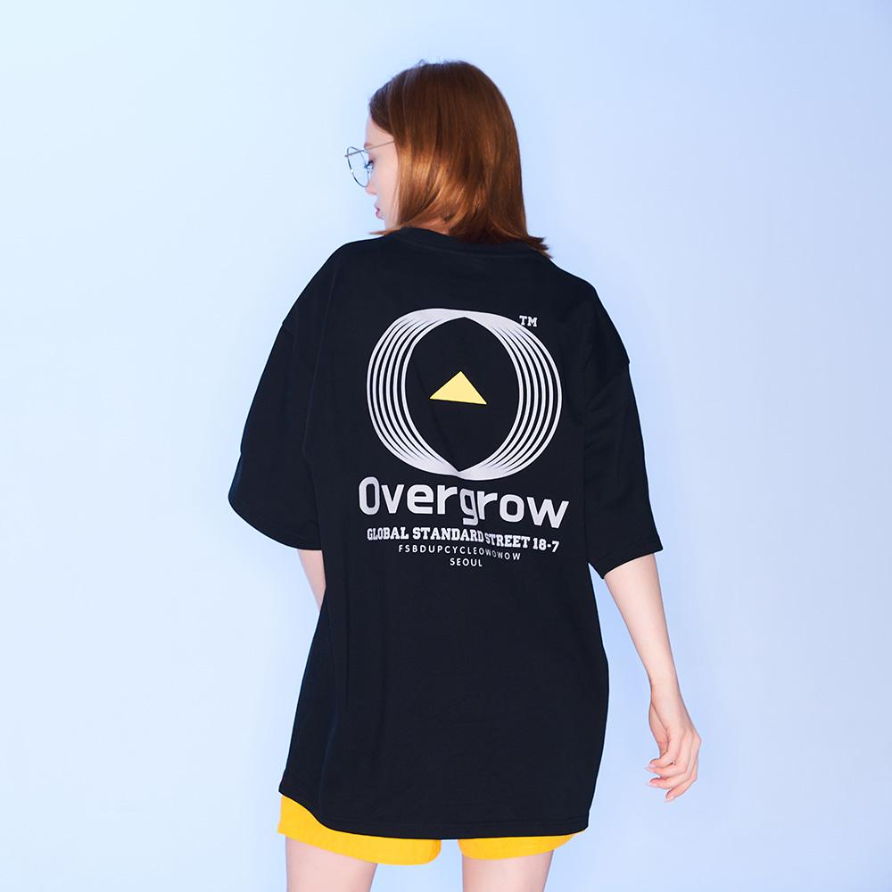 시그니처 오우 티셔츠 [블랙]