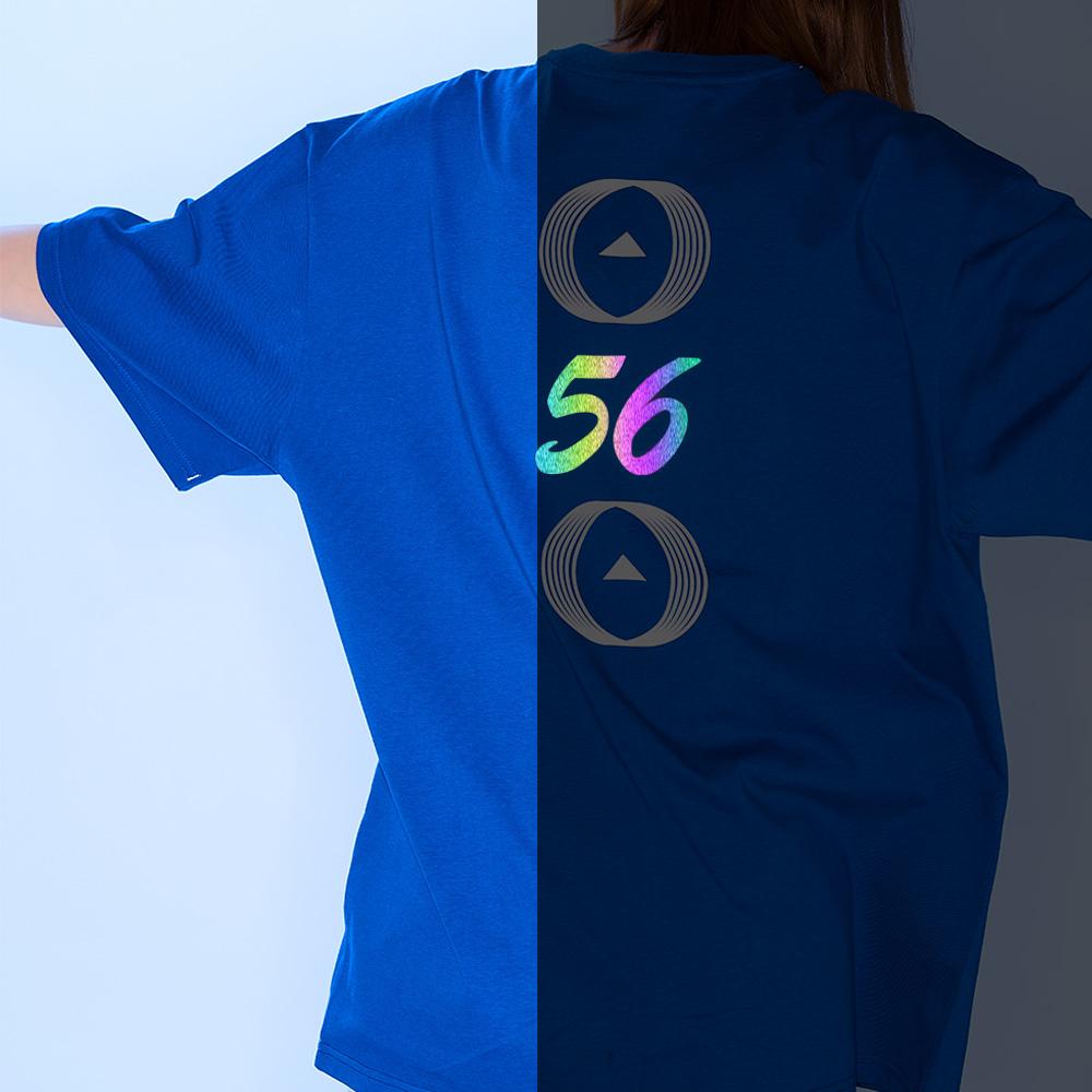 56 백넘버 티셔츠 [블루]