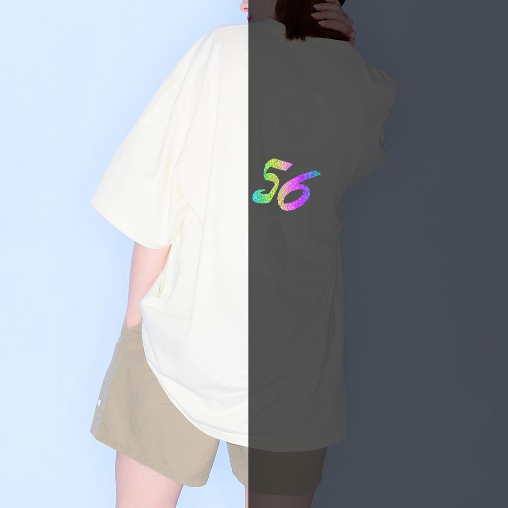 56 백넘버 티셔츠 [아이보리]