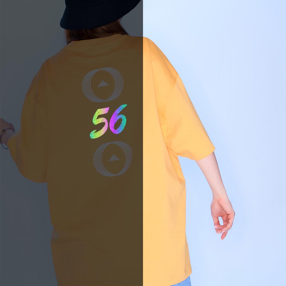 56 백넘버 티셔츠 [머스타드]