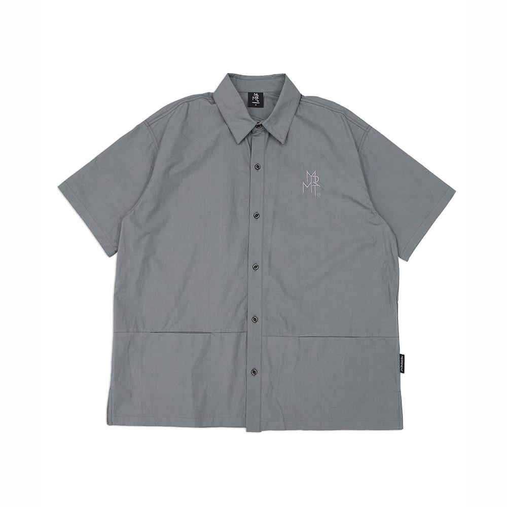 히든포켓 반팔 셔츠(GREY)
