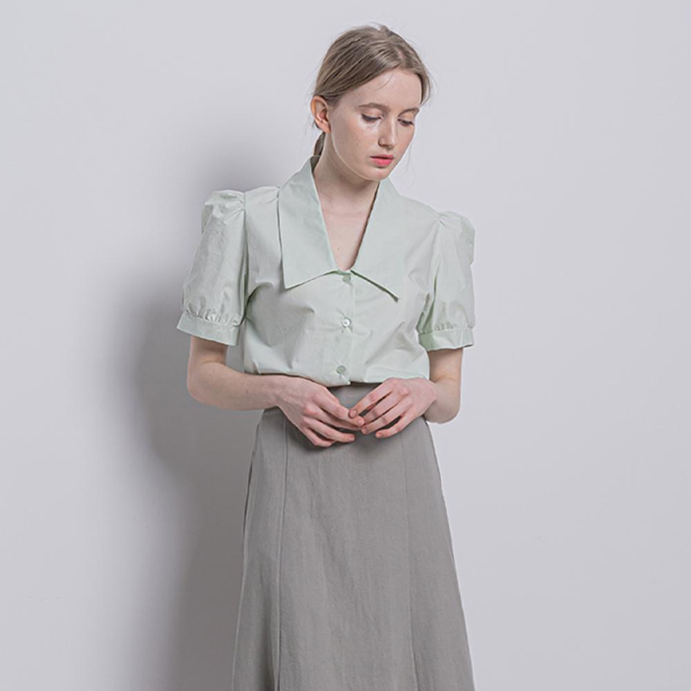 [입점특가]WT36 cara cotton blouse mint