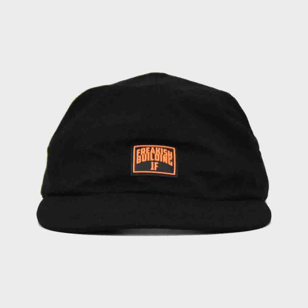 [FHBG] HF CAMP CAP  (BLACK)