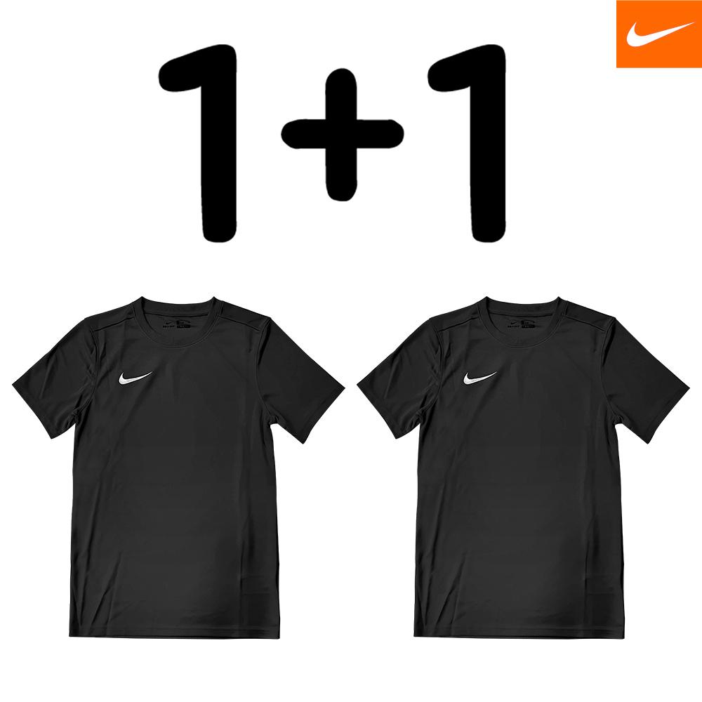 [단독할인][단독구성][1+1] 나이키 반팔 티셔츠 드라이 파크7저지 S/S 블랙